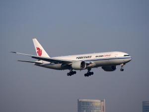 Air China Flugzeug, Sichuan