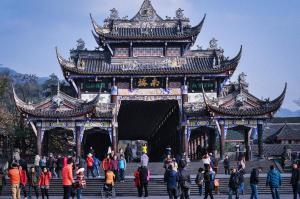 Tempel China Sichuan